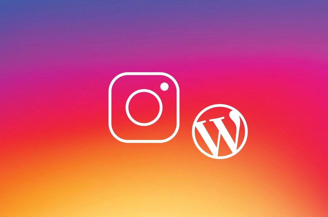 integrate Instagram on your Wordpress website