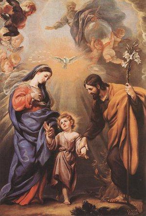 Holy Family, Claudio Coello