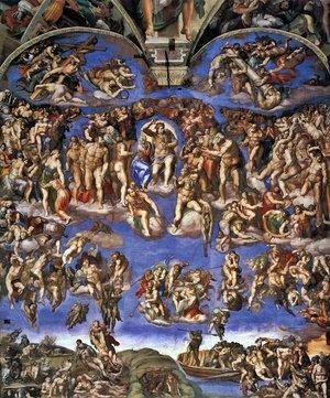 Last Judgement, Michelangelo Buonarroti