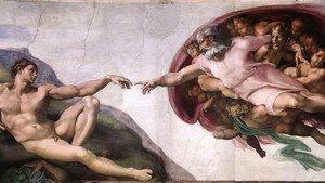 The Creation of Adam, Michelangelo Buonarroti