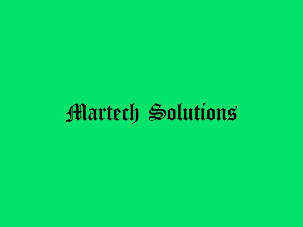 Martech Solutions